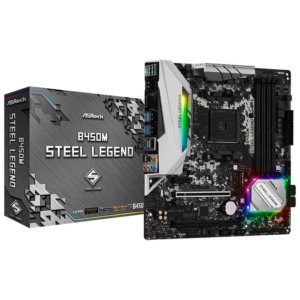 Asrock B450m Steel Legend Socket Am4 H1