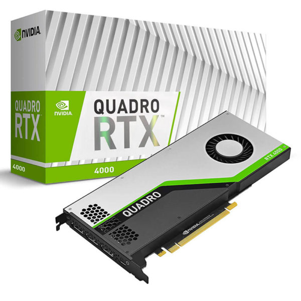 Nvidia Quadro Rtx4000 8gb Gdr6 Workstation Video Card H1