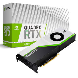 Nvidia Quadro Rtx8000 48gb Gdr6 Workstation Video Card H1