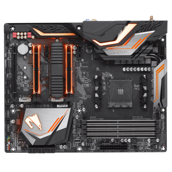 Gigabyte X470 AORUS Gaming 5 Wifi - Socket AM4