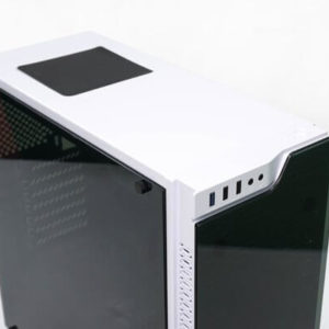 [White RGB Gaming Case] Infinity Vision with 4 RGB Case Fan