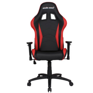 Anda Seat Axe Blackred – Full Pvc Leather 4d Armrest Gaming Chair H1