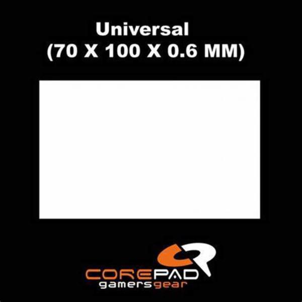 Corepad Skatez Pro For Universal Use -100% PTFE Mouse Feet