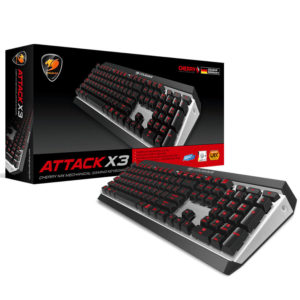 Cougar Attack X3 Premium – Cherry Mx Mechanical Aluminium Gaming Keyboard H7