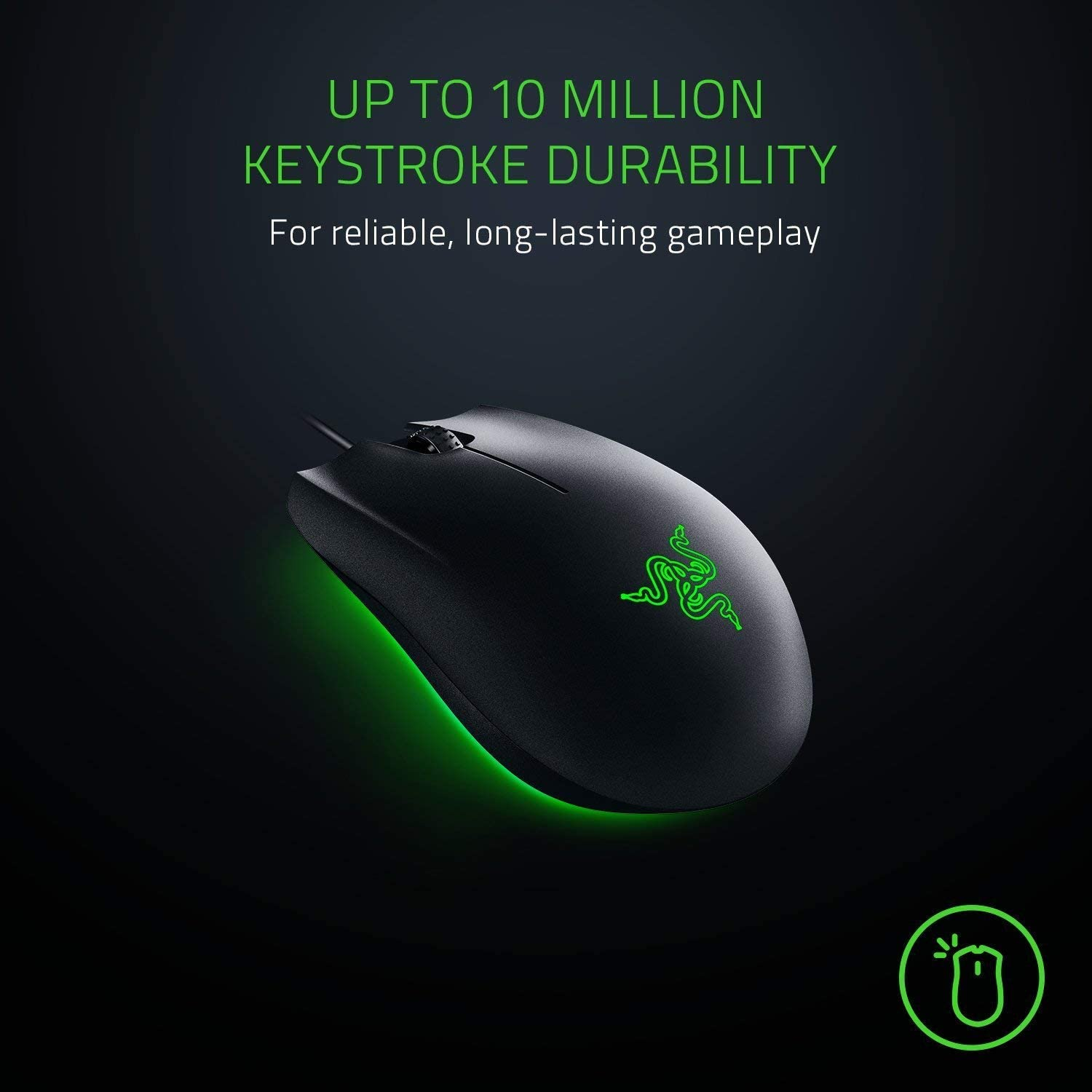 Razer Abyssus Essential Ambidextrous – Gaming Mouse Features 5