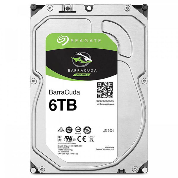 Seagate Barracuda 6tb Hdd