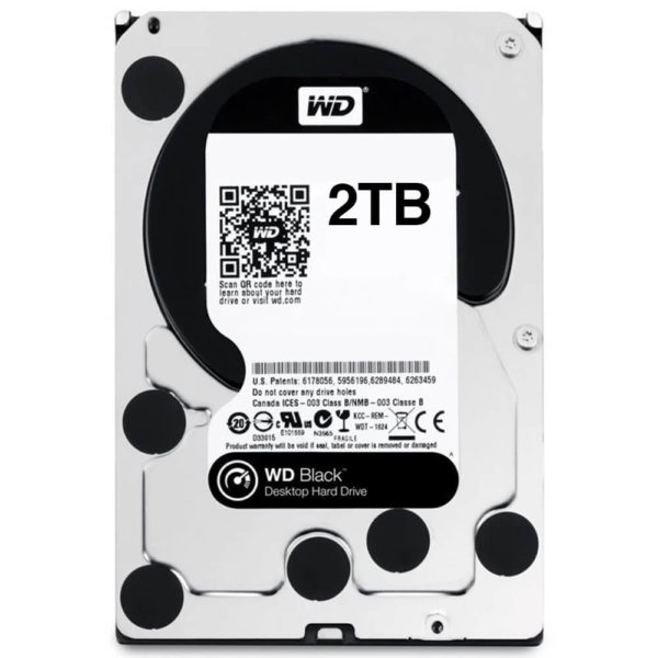 Wd Caviar Black 2tb Hdd
