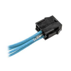 CableMod ModFlex™ Sleeved Wires Light Blue 4x20cm