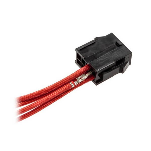 CableMod ModFlex™ Sleeved Wires Red 4x20cm