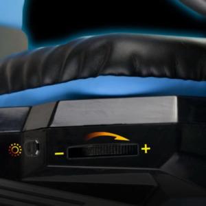 FoxXray Glare Blue -3D Precision Gaming Headset