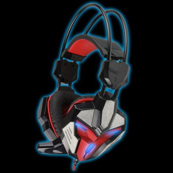 FoxXray Glare Red -3D Precision Gaming Headset