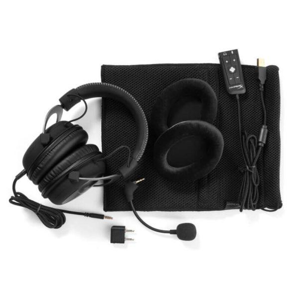 Kingston HyperX Cloud II Gun Metal - 7.1 Virtual Surround Gaming Headset