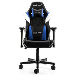 Anda Seat Assassin King V2 Blackblue – Full Pvc Leather 4d Armrest Gaming Chair H1