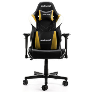 Anda Seat Assassin King V2 Blackyellow – Full Pvc Leather 4d Armrest Gaming Chair H1
