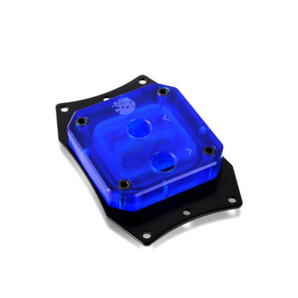 Bitspower Summit EF AMD Acrylic Blue - CPU Block