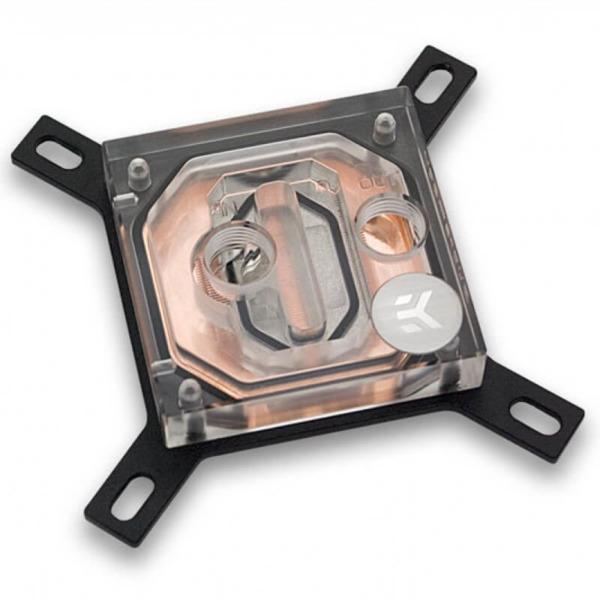 EK-Supremacy EVO Copper + Plexi - Cpu Block