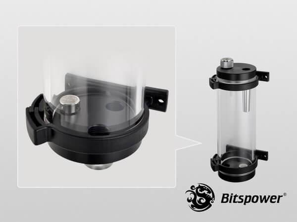 Bitspower Water Tank Z-Multi 150 V2 (Clear Body & POM Version)