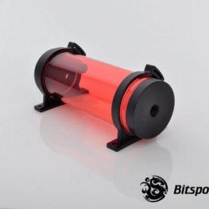 Bitspower Z-Multi 150 (Ice Red Body & Black Cap ) - Reservoir