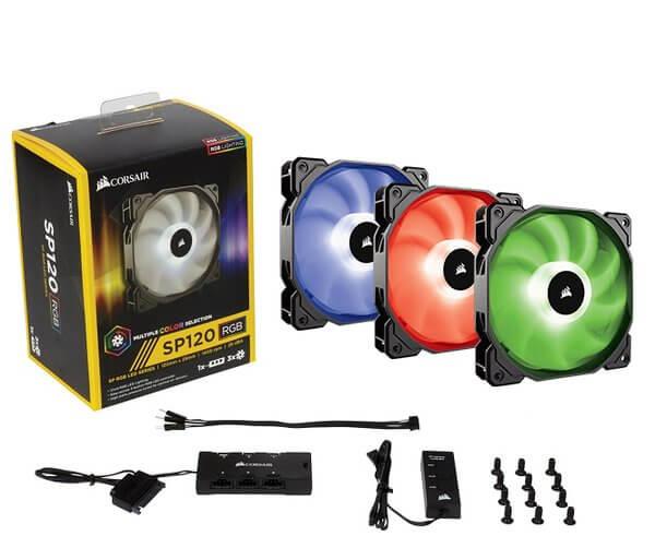 Corsair SP 120 RGB Fan - 3 Fans Pack