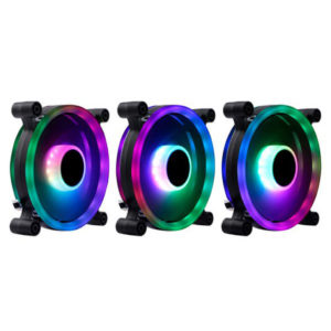 Infinity Dark Wizard Addressable RGB 240mm Liquid CPU Cooler - 3x Spectrum Pro Edition