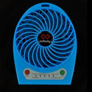 Infinity Tornado Blue - Quạt Mini Kiêm Pin Dự Phòng