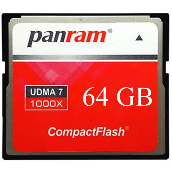 Panram Compact Flash ( CF ) UMDA 7-1000X 64GB