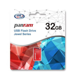 Panram Jewel Sapphire Red 8GB - USB 3.0 Flash Drive