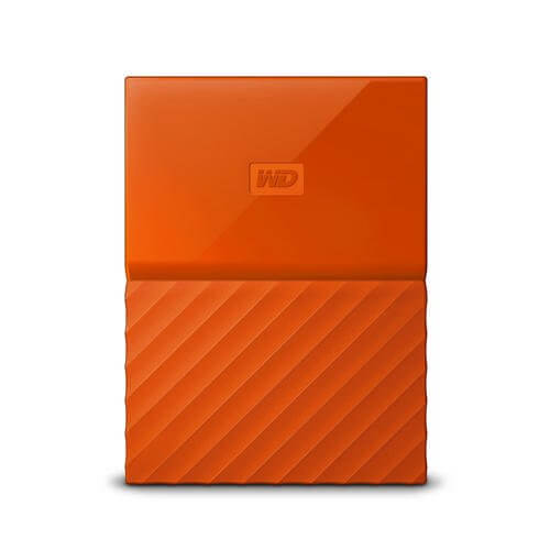"Western Digital My Passport Portable Storage 2.5"" Orange 2TB USB 3.0"