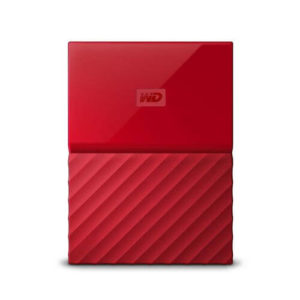 "Western Digital My Passport Portable Storage 2.5"" Red 2TB USB 3.0"
