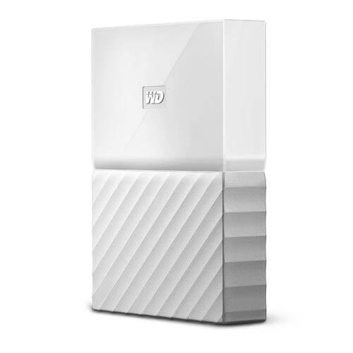 "Western Digital My Passport Portable Storage 2.5"" White 2TB USB 3.0"