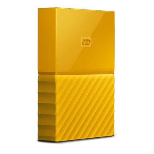 "Western Digital My Passport Portable Storage 2.5"" Yellow 2TB USB 3.0"