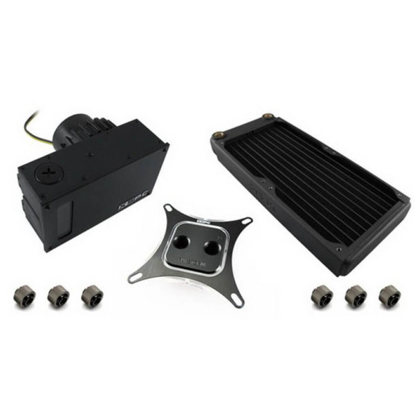 XSPC RayStorm D5 EX240 Ultimate Water Cooling Kit