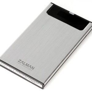Zalman HE130 Silver -USB 3.0 Aluminium External HDD Box