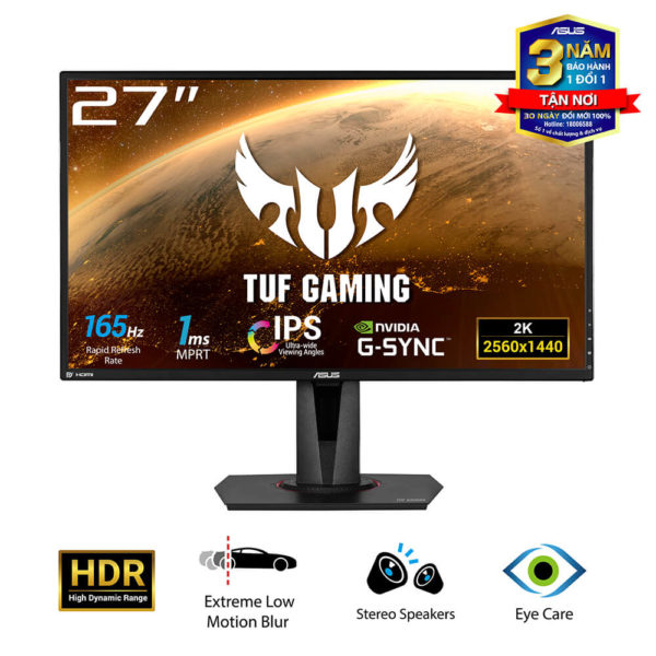 Asus Tuf Gaming Vg27aq 27″ Ips 2k 165hz H1