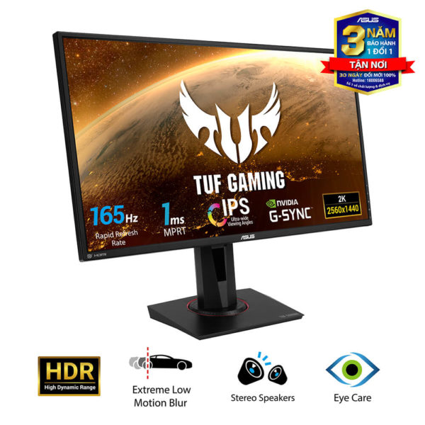 Asus Tuf Gaming Vg27aq 27″ Ips 2k 165hz H2