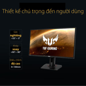 Asus Tuf Gaming Vg27aq 27″ Ips 2k 165hz H5