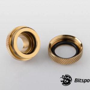 Bitspower G1,4'' Golden Enhance Multi Link For Od 14mm 2