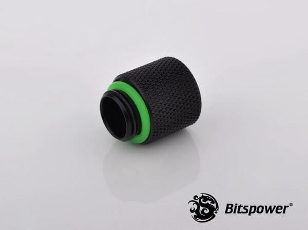 Bitspower G1,4'' Matt Black Ig1,4'' Extender 15mm