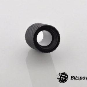 Bitspower G1,4'' Matt Black Ig1,4'' Extender 25mm 2