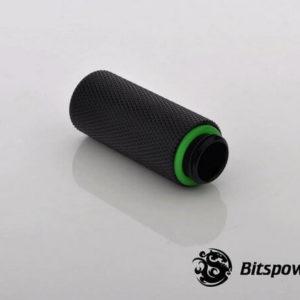 Bitspower G1,4'' Matt Black Ig1,4'' Extender 40mm