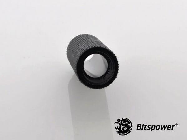 Bitspower G1,4'' Matt Black Ig1,4'' Extender 50mm 2
