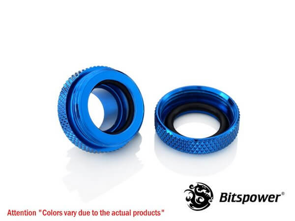 Bitspower G1,4'' Royal Blue Enhance Multi Link For Od 12mm 2