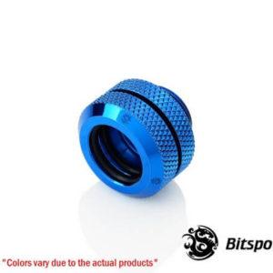 Bitspower G1,4'' Royal Blue Enhance Multi Link For Od 12mm