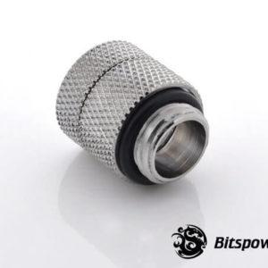 Bitspower G1,4'' Silver Shining Anti Twist Adapter