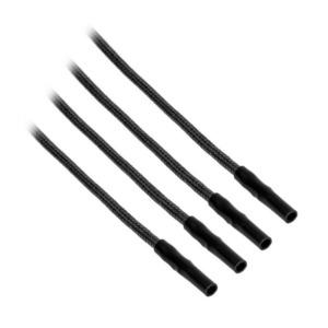 CableMod ModFlex™ Sleeved Wires Black 4x20cm