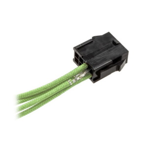 CableMod ModFlex™ Sleeved Wires Light Green 4x40cm