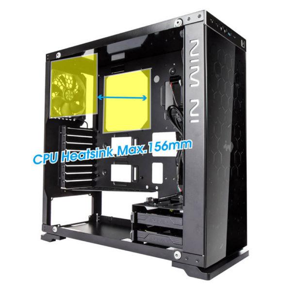 In Win 805 – Aluminium Tempered Glass Gaming Case H7