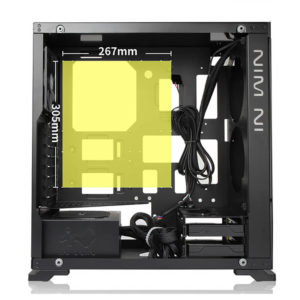 In Win 805 Aluminium & Tempered Glass Mid Tower Case H2