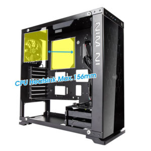 In Win 805 Aluminium & Tempered Glass Mid Tower Case H3