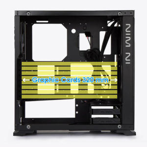 In Win 805 Aluminium & Tempered Glass Mid Tower Case H4